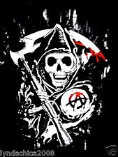 Sons of Anarchy SOA Reaper shirt (Size L)  ***BRAND NEW***  Licensed Merchandise
