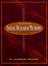 Social Research Methods: Qualitative and Quantitative Approaches (4th Edition)