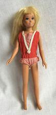 Skipper Blond Twist N Turn & Yellow 1964 Case & Clothes Vintage Mattel