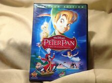 Peter Pan (DVD, 2007, 2-Disc Set, Platinum Edition) Disney with Games! GUC