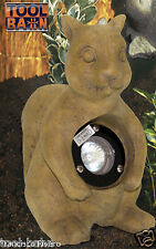 Ornamental Rock Effect Garden Light SQUIRREL Pre-Wired 12V MR16 20W