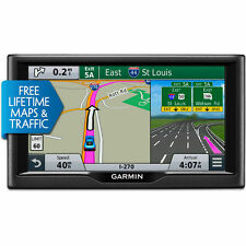 "Garmin nuvi 67LMT 6"" Essential Series GPS System Maps & Traffic 010-01399-02 NEW"