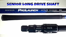 TaylorMade Senior Grafalloy Blue LONG DRIVE SHAFT Fit M1 M2 R15 R1 SLDR Driver