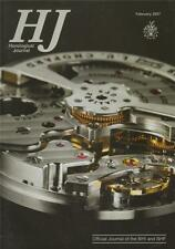 Horological Journal 149/2 Tymperleys Clock Museum. F P Journe. Woodward.    z128