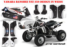 AMR RACING DEKOR GRAPHIC KIT ATV YAMAHA BANSHEE YFZ 350 P40-WARHAWK B