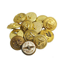 12 GERMAN KRIEGSMARINE NAVY GOLD BUTTONS - LARGE