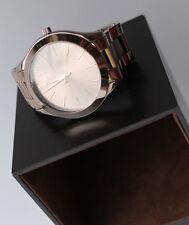 Michael Kors Women's Slim Runway Sable Stainless Steel Bracelet Watch MK3418