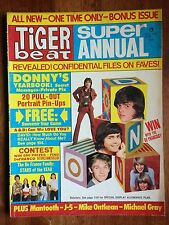 TIGER BEAT Super Annual 1973 Donny Marie Osmond David Cassidy Michael Jackson!!!