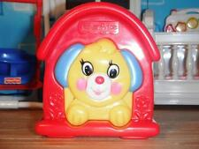 """Fisher Price Baby Squeak Dog House Toddler Toy fits 16 18"""" American Girl Doll"""