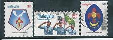 Malaysia -1974 Scout Jamboree - Used set