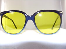 Vintage Maui Jim Navy Frame with Yellow Night Driving Lenses