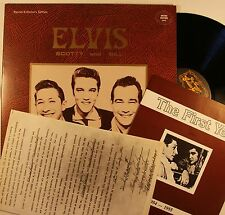 Elvis Presley Elvis Scotty And Bill The First Year Rare UK Coll.Ed LP + Booklet