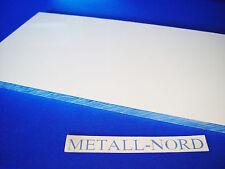 """PIASTRA in alluminio alluminio 400x200x10mm piano fresata """"ritaglio"""" M. Pellicola Protettiva AW 5083"""
