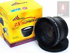 Z8a 2X TELE telephoto Lens for Sony A55 A57 A58 A65 w/ 18-55mm Lens Camera AU