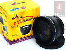 Z6 2X TELE telephoto Lens for Nikon D3000 D3100 D3200 w/ 18-55mm Lens Camera AU