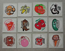 Vintage TOYS FOR AMERICA Scratch and Sniff Stickers Set of 12