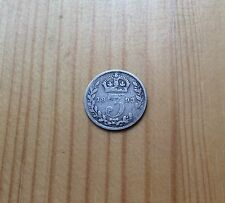 Victoria 1893 Jubilee Head Sliver Threepence / 3d Coin - RARE! - FREE UK POSTAGE