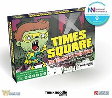 City of Zombies - Times Square Expansion - co-operative educational maths game