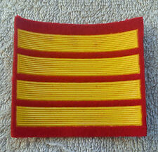 SOVIET UNION ARMY PATCH Officer Cadet 4 Years Service Stripes Badge USSR CCCP