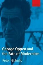 George Oppen selected poems