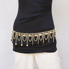 Ethnic Style Jewelry Vintage Sequin Belly Dance Body Necklace Belly Chain