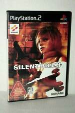 SILENT HILL 3 + BONUS AUDIO CD USATO COME NUOVO SONY PS2 ED JAP NTSC/J MC5 48332