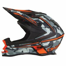 2016 Oneal 7 Series Motorcross Helmet KTM ORANGE and Gray. CAMO! SIZE XXL