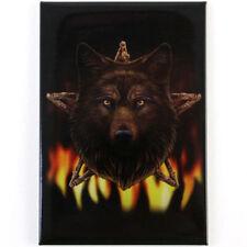 Quality Lisa Parker Fridge Magnet~Fantasy Art~Pentagram Wolf~LP3~uk seller