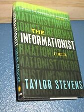 The Informationist by Taylor Stevens HC/DJ 1st  *FREE SHIPPING* 9780307717092