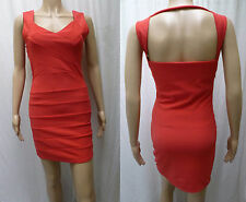Ladies Red Bodycon Dress Fit Size 8  10