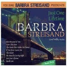 Sing The Hits Of Just One Lifetime - Barbra Streisand (Karaoke) Barbra Streisan