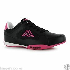 KAPPA RANNOCK TRAINERS BLACK HOT PINK CASUAL SHOE TRAINER SIZE 5 RRP £39.99