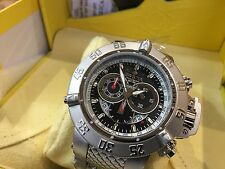 4572 Invicta 50mm Subaqua Noma III Swiss Quartz Chronograph SS Bracelet Watch