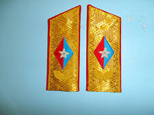 b7687 Cuba Cuban Fidel Castro Sholder Boards for Dress Tunic pair