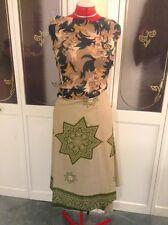 """""""Krishma"""" Indian """"100 Ways To Wear"""" Flowy Multiple Tie Dress/Skirt/Top One Size3"""
