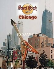 Illinois - Chicago - HARD ROCK CAFE - Travel Souvenir Fridge MAGNET