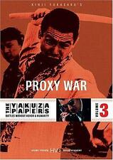 The Yakuza Papers: Vol.3 - Proxy War (DVD) Bunta Sugawara, Akira Kobayashi NEW