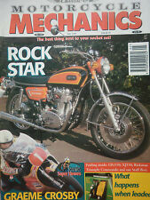 YAMAHA XS1B 6 page classic ride / GRAEME CROSBY 6 pages / CLASSIC M/C MECH.05/98