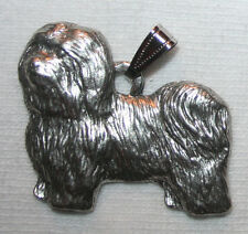 Havanese Dog Harris Fine Pewter Pendant Jewelry USA Made