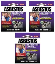 (3) ea Pro-Lab AS108 Professional Asbestos Do It Yourself Test Kits