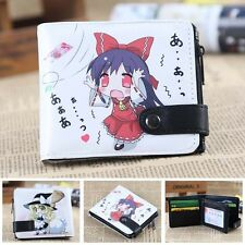 Anime TouHou Project Zero Wallet/Coin Purse/Double-button Wallet of Reimu&Marisa