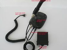 PTT Ham Foot Switch for Yaesu MD-100/200A8X Microphone Desk Stand w/RJ-45 Plug