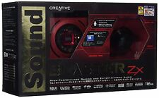 Creative Sound Blaster Zx 116DB High Performanc PCIE Gaming Sound Card with ACM