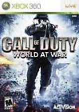 Call of Duty: World at War GAME (Xbox 360) **FREE SHIPPING!!