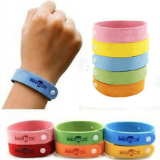 Portable Mosquito Repellent Wrist Band Bracelet Insect Bug Lock Camping Mozzie