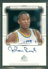 Jaron Rush Basketball Auto 2000-01 Upper Deck '00 Signature Autograph Signed