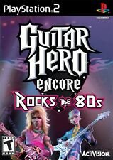 Guitar Hero Encore Rocks The 80's PS2 Playstation Game