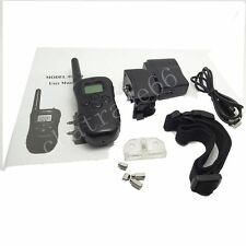 Waterproof LCD Remote Rechargeable Shock Dog Training Collar Electric Trainer