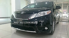 MIT TOYOTA SIENNA 2011-2016 front lower grill cover chrome garnish trim molding