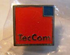Pin: TecCom Automotive Werkstattsoftware Datenbanken Databases 15 x 15 mm OVP